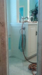 St. Simons Shower Glass Restoration