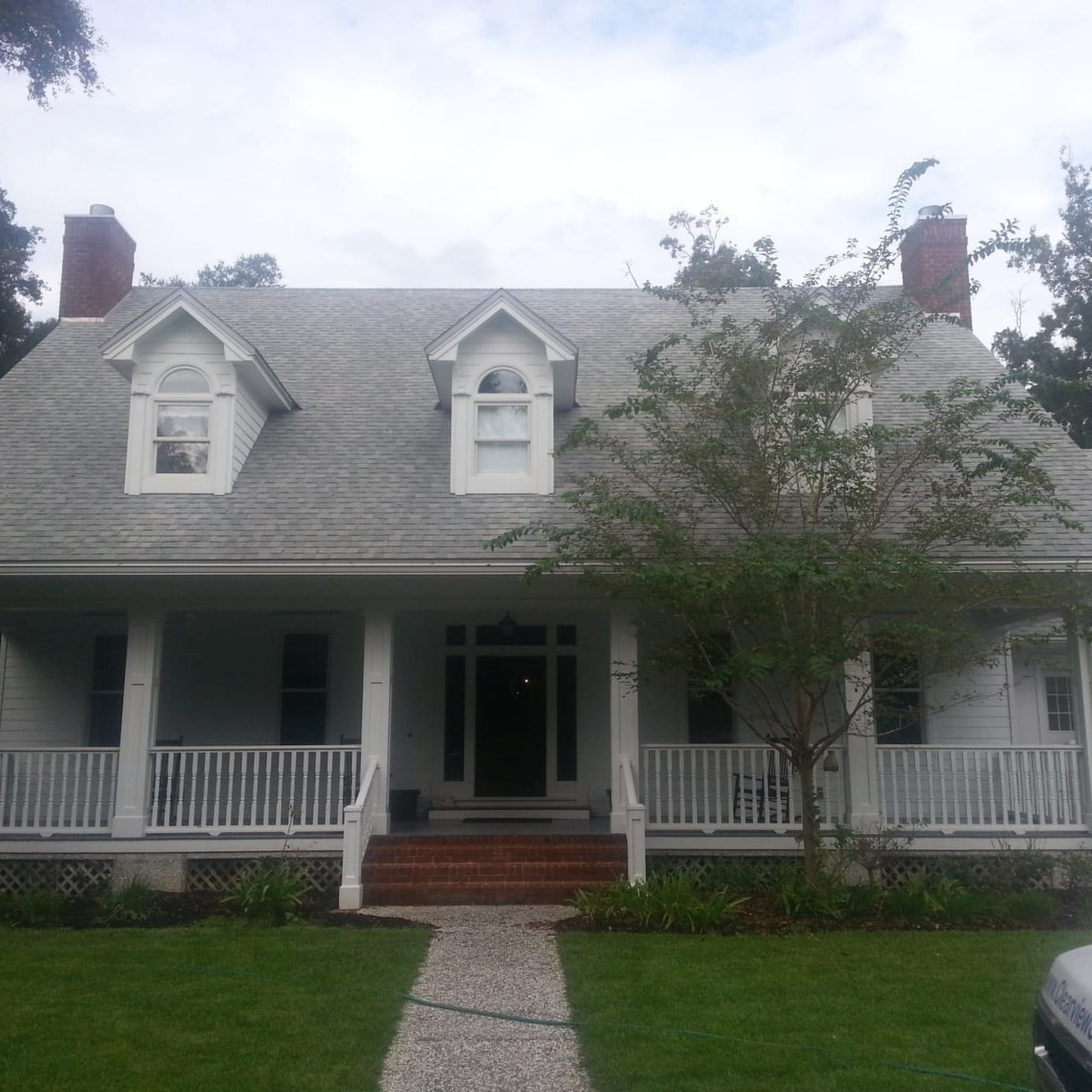 Roof Cleaning After St. Simons Island,GA